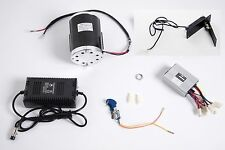 1000 W 48 V motor ZY1020 w base, speed control, keylock, Foot Throttle & charger
