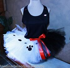 Ladies Womens Run Disney Princess Marathon Tutu Running Skirt Cruella DeVil 101