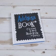 Bright Side Address Book - Great gift idea for friends - Men or Women Birthday