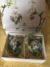 royal copenhagen - Easter Eggs - Decorations- 2 Uova - Decorazione Pasquale
