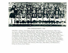 1969 CHICAGO BEARS  8X10  PHOTO PICCOLO SAYERS BRIAN'S SONG TV MOVIE FOOTBALL