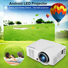 Wireless HD Projector wifi Android Network LCD/LED AV/HDMI/USB/SD Home Theater