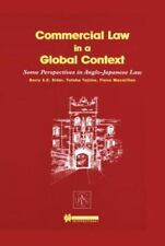Commercial Law In A Global Context Anglo Rider Tajima Macmillan Hardcover