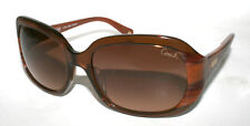 New Authentic COACH FLORA S8007 S 8007 Brown Tortoise Sunglasses Made in China