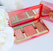 BRAND NEW TOO Faced Sweet Peach GLOW Palette 3 Colors Free USA Shipping