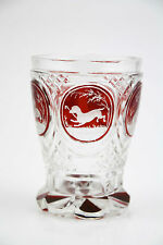 BIEDERMEIER GLAS TIERMOTIVE um 1840 - BIEDERMEIER GLASS ANIMAL THEME around 1840