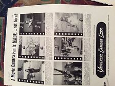 r7 ephemera 1944 ww2 film advert universal camera corps a photo from home
