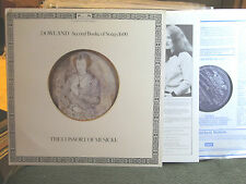 ROOLEY John Dowland second booke of songs 1600 consort of musicke 2 lp '77 rare!