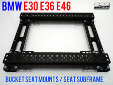BMW E30 E36 E46 Bucket seat mounts / Seat subframe PROFESSIONAL MOTORSPORT