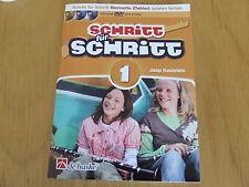 Schritt für Schritt Band 1   für Klarinette (Oehler)   inkl. DVD und 2 CD`s