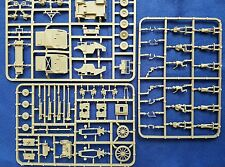 Plastic Soldier Company 1/72 británica 25pdr & Cmp Quad Tractor sprue