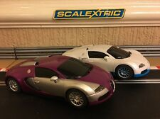 Scalextric Bugatti Veyron Twin Pack *Brand New*