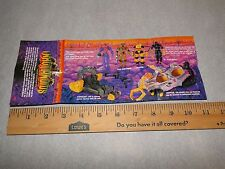 Inhumanoids Action Figure Toys Catalog, Pamphlet, Insert, Checklist Hasbro 1986