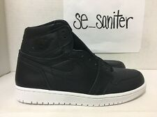 Men's Nike Air Jordan 1 Retro High OG Black White Cyber Monday 555088-006 Sz 8.5