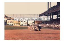 Brooklyn Dodgers- Duke Snider at Ebbets Field -Color