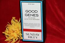 SUNDAY RILEY GOOD GENES LACTIC ACID TREATMENT FULL SIZE 1 OUNCE NEW IN BOX