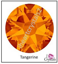 TANGERINE ORANGE 144 pcs 9ss 2.5mm Swarovski Crystal Flatback Rhinestones 2058