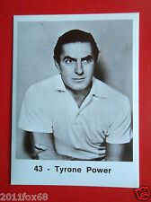 figurines actors stickers akteurs figurine i divi di hollywood #43 tyrone power