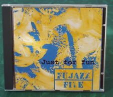FUJAZZ FIVE (signed by five members)   Just for the fun