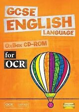 GCSE English Language for OCR OxBox CD-ROM, OUP Oxford, New Book