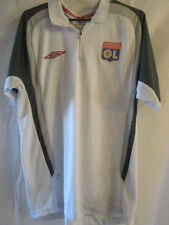 Olympique Lyon Polo Football Shirt Small /16156