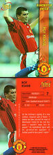 FUTERA 1998 MANCHESTER UNITED ROY KEANE CARD NUMBER 7