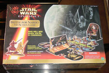 STAR WARS EPISODE 1 BATTLE FOR NABOO 3D ACTION GAME FACTORY SEALED