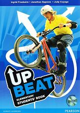 Pearson UP BEAT Elementary STUDENTS' BOOK Coursebook & Multi-Rom CD PACK @NEW@