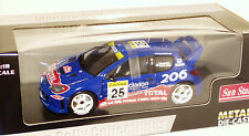 1/18 Peugeot 206 WRC  Clarion  Rally Monte Carlo 2002  H.Rovanpera