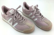 retro Pink Leather Samoa Adidas 146300 mensUS 7.5 rare pink color.clean,low