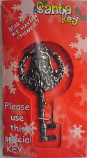 Magic Santa Claus Father Christmas Special Key & Ribbon (No Chimney No Problem)