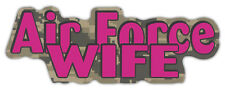 Military Car Magnets: AIR FORCE WIFE (Camouflage)   United States Airforce
