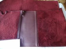 Mercedes W124 300e 280e 300D front carpet mat set Burgundy oem Excellent