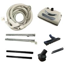 Replacement Central Vacuum 35' ft Hose Powerhead Kit for Beam Electrolux Nutone