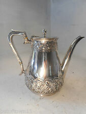 Quality Silver Plate Teapot , Coffee Pot   ref 2822