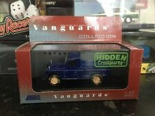 Vanguards Land Rover Weathered Blue 1/43 MIB Hidden Treasures VA07606