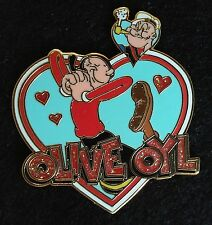OLIVE OYL AND POPEYE WITH HEARTS 2008 UNIVERSAL STUDIOS PIN TRADING PIN LE 500