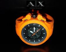 ARMANI EXCHANGE MEN'S DIGITAL/ANALOG ORANGE NEON WATCH AX1286