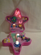 Vintage 1993 Bluebird Polly Pocket Large Fairy Fantasy Light Up Star Compact