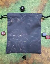 Cthulhu Scratch Art dice bag