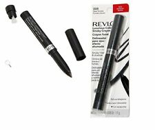 Revlon luxurious color smoky liner & shadow crayon in 008 steel smoke - CARDED