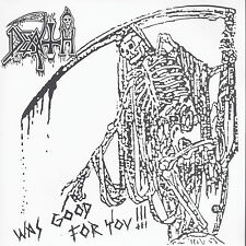 "DEATH - WAS GOOD FOR YOU 7""  Infernal Death Demo + Live - Limited to 333 Copies"