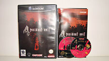 JEU NINTENDO GAME CUBE COMPATIBLE WII - RESIDENT EVIL 4 COMPLET TBE CAPCOM