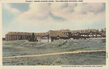 CC84.Vintage US Postcard.Grand Canyon Hotel,Yellowstone Park,Wyoming.