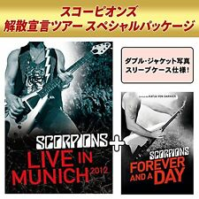 SCORPIONS-LIVE IN MUNICH 2012 + FOREVER AND A DAY-JAPAN 2 DVD Ltd/Ed U00