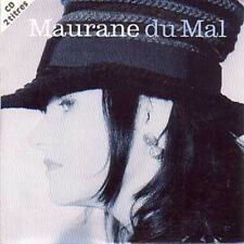 CD Single MAURANE Du mal 2 Tracks CARD SLEEVE + NEUF +