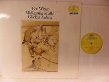 Ben Witter -Müßiggang ist allen Glückes Anfang- LP 1985 D -  mit Terje Rypdal