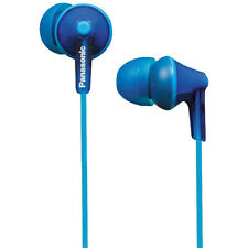Panasonic RP-HJE125 Blue ErgoFit Neodymium In-Ear Earphones Headphones