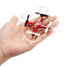 Mini Explorers Drone 2.4GHz 4CH 6-Axis Gyro Headless 3D Flying RC Quadcopter Red