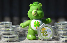 Lot 25 CARE BEAR Good Luck KIWI STRAW Shimmer LIP GLOSS Halloween Birthday Favor